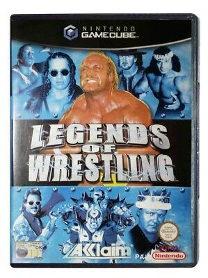 LEGENDS OF WRESTLING (Nintendo Gamecube) Wii A