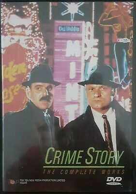Crime Story The Complete Works DVD - Dennis Farina - A. Dennison SHIPS FAST FREE