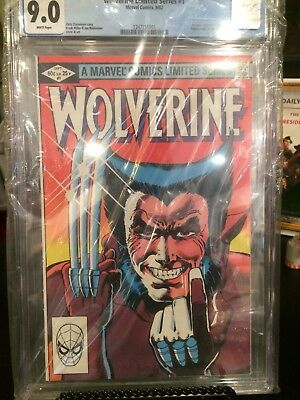 Wolverine (limited series, 1982, Marvel) #1-#4 ALL CGC - RARE Canadian.