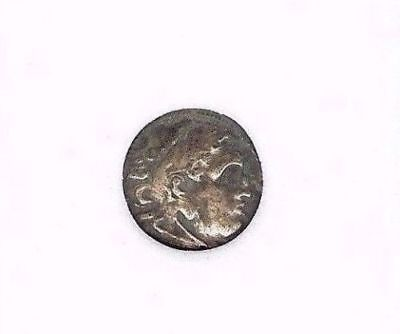 Alexander Iii The Great 336-323 Bc. Silver Drachm -Monogram Below - Choice Xf @@