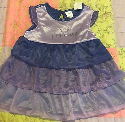 Baby Girls Purple Layered Princess Target Dress Nightie Size 1 New with tags