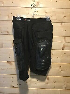 Herobiker Motorcycle Armor Padded Compression Shorts