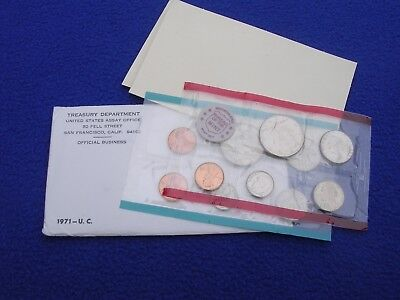 1971 P & D US Mint Uncirculated 11 Coin Set S Penny