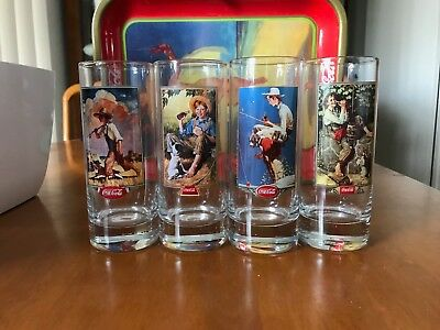 Coca Cola Collectable Glasses