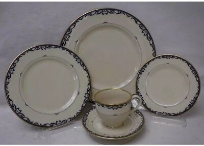 LENOX china LIBERTY (9) 5 piece Place Setting cup saucer dinner salad bread