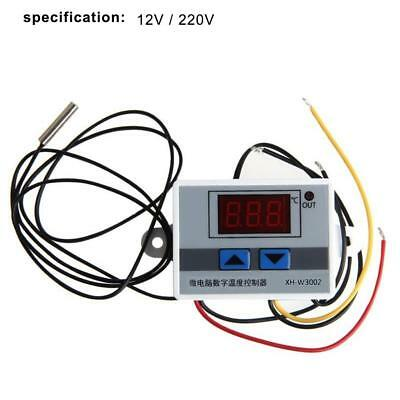 12V 220V Digital LED Temperature Controller Thermostat Control Switch Probe NG