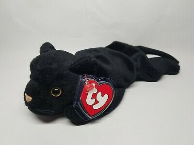 0f3a887e76c Authentic Ty Beanie Baby Velvet the Panther Rare 3rd 1st Gen Tag MWNMT!