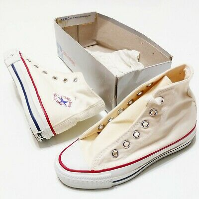 Converse All Star Basketball HI MADE IN USA Vintage 1980s 12.5 DeadStock New
