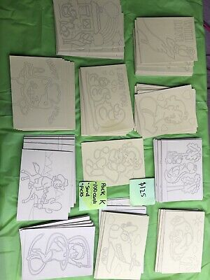 Sand Art Kit 100 cards17.5x12.5cm,sand,picks great for School fundraising, party