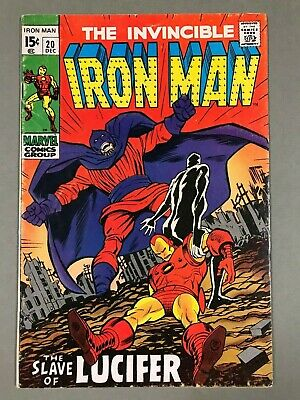 1969 IRON MAN #20 * THE SLAVE OF LUCIFER! Nice & Solid