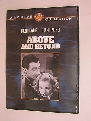 WARNER BROS - ARCHIVE COLLECTION - Above and Beyond (1952) (DVD, 2009) FREE SHIP