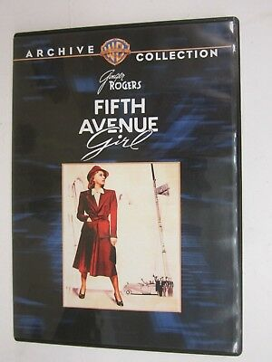 WARNER BROS - ARCHIVE COLLECTION - Fifth Avenue Girl (1939) (DVD,2010) FREE SHIP
