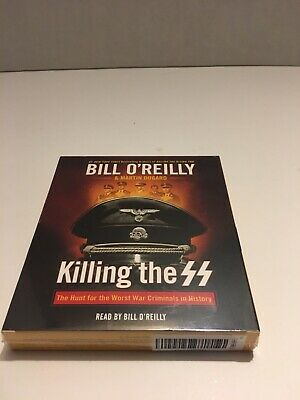 Killing the SS History Worst Nazi War Criminals Audiobook CD Bill O'Reilly