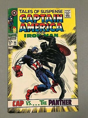 1968 TALES OF SUSPENSE #98 * CAPTAIN AMERICA * BLACK PANTHER * New ZEMO! NICE!