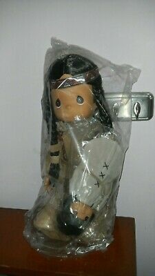 Precious Moments Morning Star Doll Mom Indian w/ Child Papoose NIB Unopened 15""