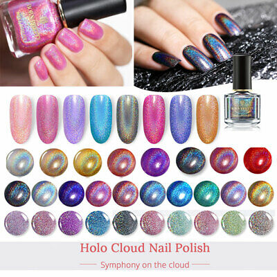 6ml Holographic Nail Polish Glitter Laser  Hologram Varnish BORN PRETTY