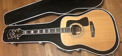 1999 GUILD D55 NT Acoustic/Electric Guitar W/HSC Made in Westerly Rhode  Island