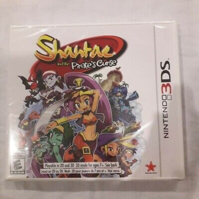 Shantae and the Pirate's Curse (Nintendo 3DS, 2016) **NEW/SEALED**