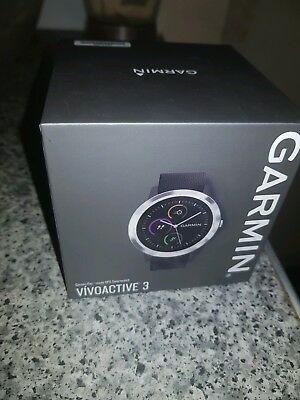 Garmin Vivoactive 3 GPS Smart Watch - Brand New. Low price
