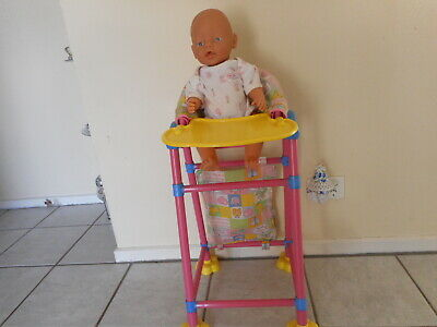 Zapf Creations  Vintage Baby Born & Baby Born High Chair & Accessories