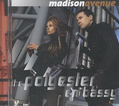 Madison Avenue - The Polyester Embassy CD Like New