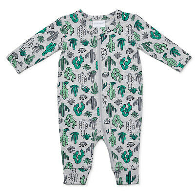 NEW Marquise Cacti Zipsuit Green/Grey 000