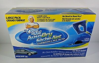 Mr. Clean AutoDry Car Wash System New Soap Filter Hose Attachment Large Pack