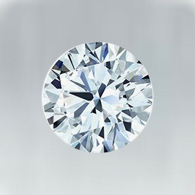 Off White Blue Round cut 0.76 Ct 6.25 mm VVS1 Genuine Loose Moissanite for sale