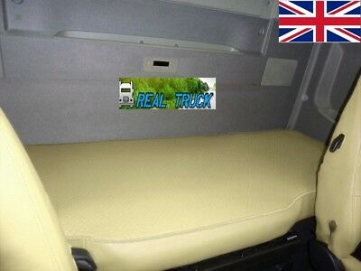 Truck  Bed Cover Compatible With Volvo Fh4 2013+ Eco Leather -Beige