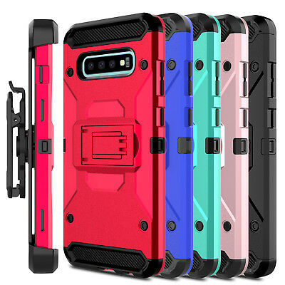For Samsung Galaxy S10 Plus/S10 Lite Case Clip Holster Stand Hard Phone Cover