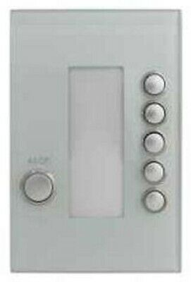 Clipsal C-BUS WIRELESS WALL SWITCH 6-Button Battery Operated, Ocean Mist