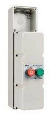 Clipsal DIRECT ONLINE MOTOR STARTER 11kW 415V Coil 22A 3-Phase 2-Button, Grey