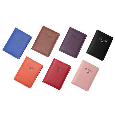 Trip Secure RFID Blocking Leather Travel Passport Holder Cards Case Cover Wallet