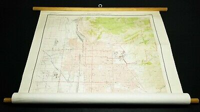 "U.S. Geological Survey Vintage 1952 Salt Lake City Utah & Vicinity 45"" Site Map"