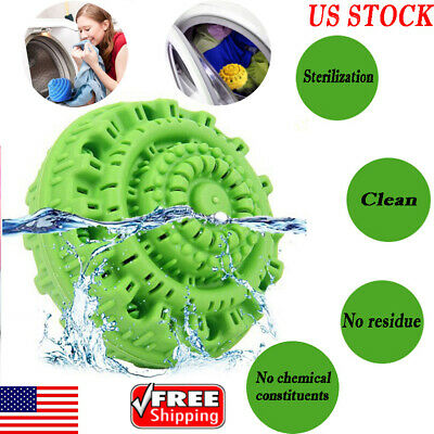Home Eco Magic Laundry Ball Orb No Detergent Wizard Style Washing Machine US