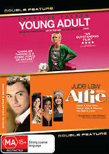 Young Adult + Alfie - Brand New & Sealed 2-Disc Dvd (Jude Law) Region 4