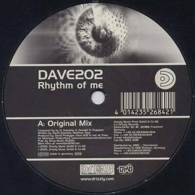 "12"": Dave 202 - Rhythm Of Me - Drizzly - DRIZ2081"