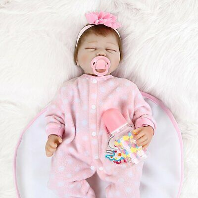 "Lifelike Baby 22"" Full Body Realistic Reborn Dolls Gifts Newborn Doll Gifts"
