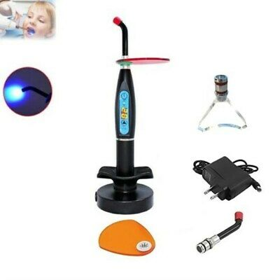 5W Dental Wireless Cordless LED Curing Light with Whitening Tip Black UK STOCK