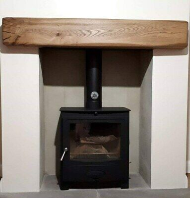 Quality Oak Beam Fireplace Mantel Rustic - Range of Lengths, Colours and Sizes