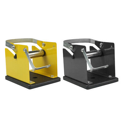 New Soldering Wire Reel Metal Holder Stand Support Solder Rack Yellow Frame
