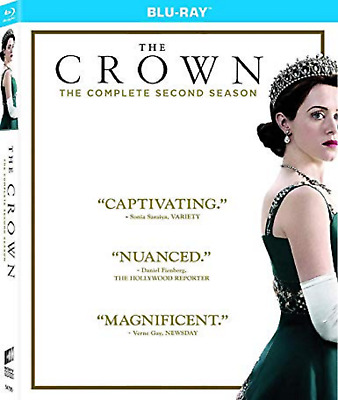 THE CROWN COMPLETE SERIES 2 BLU RAY Second Season 2nd Claire Foy UK Rele NEW R2