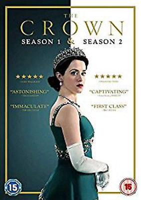 THE CROWN COMPLETE SERIES 1-2 DVD 1st 2nd First Second Season One and Two UK NEW