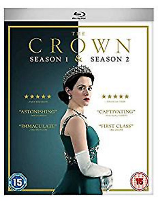 THE CROWN COMPLETE SERIES 1-2 Blu Ray Season  Claire Foy Matt Smith UK NEW R2