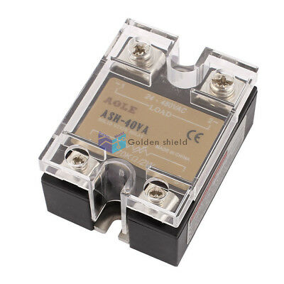 ASH-40VA Single Phase Solid State Relay ASH-40VA 470Kohm 2W to 480VAC 40A
