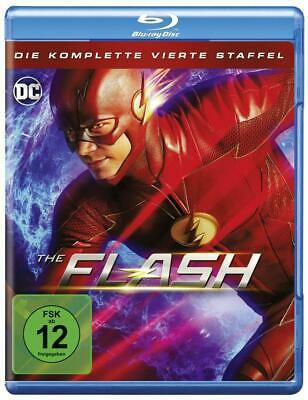 THE FLASH  COMPLETE SERIES 4 BLU RAY All Episodes Fourth Season Original UK NEW