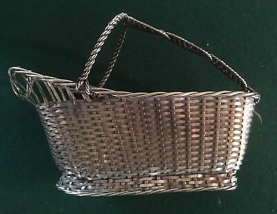 Cristofle Silver Plated Wine Basket