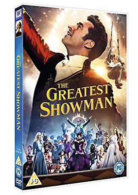 THE GREATEST SHOWMAN DVD Sing along Hugh Jackman Rebecca Ferguson NEW R2 UK Rel