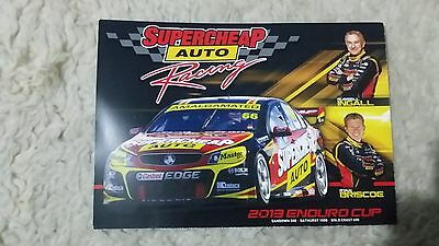 2013 Supercheap Auto Racing Enduro Cup drivers card