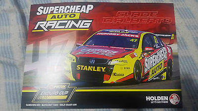 2014 Supercheap Auto Racing Drivers Card Signed